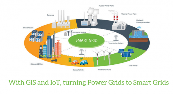 With GIS and IoT, turning Power Grids to Smart Grids